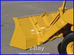 John Deere 210C Backhoe Wheel Loader Tractor Diesel Excavator bidadoo
