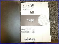 John Deere 210LE Landscape Loader Operation & Test Service Repair Manual TM1691