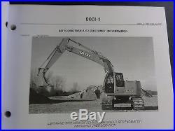 John Deere 225CLC RTS Excavator Parts Catalog PC9301