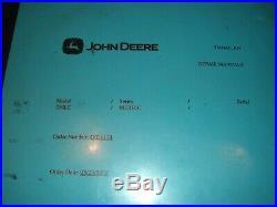 John Deere 230lc Excavator Technical Service Shop Repair Manual Book Tm1666