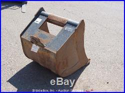 John Deere 24 Bucket Bucket Attachment For Backhoe Excavator