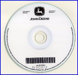 John Deere 270CLC 270 CLC Excavator O & T Technical Service Repair Manual CD
