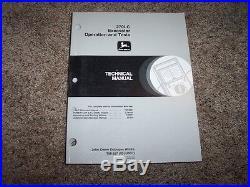 John Deere 270LC Excavator Operation & Test Shop Service Repair Manual TM1667