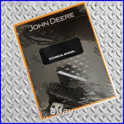 John Deere 27D Excavator Technical Service Repair Manual JD TM2356