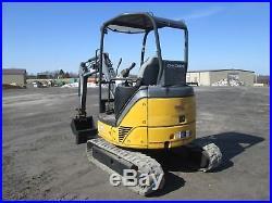 John Deere 27D Farm Tractor Dozer Mini Excavator