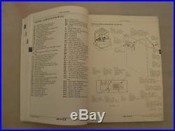 John Deere 27ZTS Excavator Operation/Tests, Repair, Operator's Manuals, 3 Vol