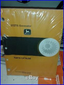 John Deere 27ZTS Excavator Parts Catalog