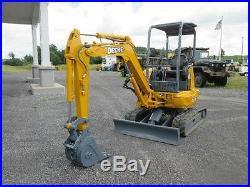 27zts John Deere Excavator