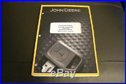 John Deere 27c 35c Zts Excavator Service Operation & Test Manual Tm2052