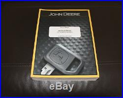 John Deere 27d Excavator (sn 255000-) Parts Catalog Manual Pc10115