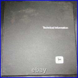 John Deere 300-B Loader & Loader Backhoe Technical Manual