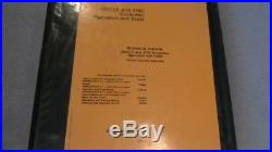 John Deere 330CLC 370C 330 370 Excavator Shop Service Manual Operation Test