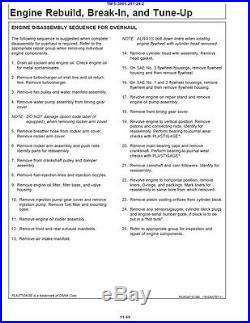 John Deere 330LCR Excavator Service Manuals, JD-330 LCR Workshop Manuals DVD