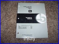 John Deere 330LC 370 Excavator Technical Repair Service Shop Manual TM1670