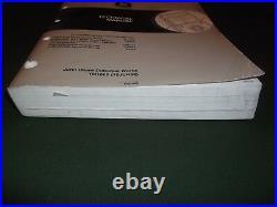 John Deere 330lc 370 Excavator Technical Service Shop Op Test Manual Book Tm1669