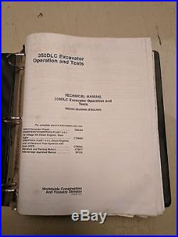 John Deere 350DLC 350 DLC Excavator Technical Repair Service Shop Manual TM2539