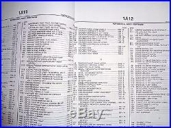 John Deere 350DLC Excavator Parts Catalog Book Manual PC9545 Dealer Original JD