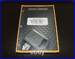 John Deere 350glc Excavator Service Operation & Test Manual Tm12173