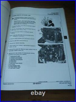 John Deere 35D And 50D Excavators Technical Repair Manual TM2264