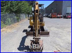 John Deere 35 ZTS Hydraulic Mini Excavator Hyd Thumb Isuzu 29HP 2 Extra Buckets