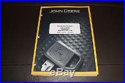 John Deere 35d 50d Excavator Operation & Test Service Manual Tm2263