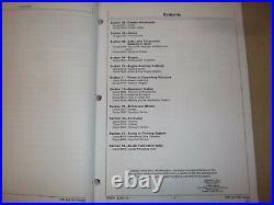 John Deere 35d 50d Excavator Technical Service Shop Repair Manual Book Tm2264