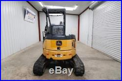 John Deere 35d Mini Track Excavator, 29 Hp, Max. Dig Depth 10