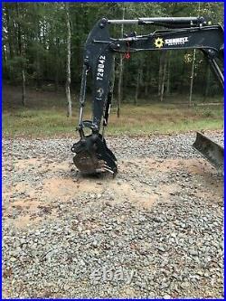 John Deere 35g 35d Hydraulic Mini Excavator Thumb Pin On Grapple Clamp Claw Kit