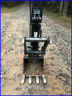 John Deere 35g 35d Hydraulic Mini Excavator Thumb Pin On Grapple Long Arm