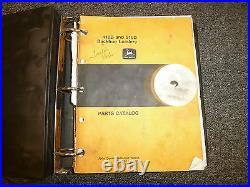 John Deere 410D & 510D Backhoe Loader Parts Catalog Manual Book Jun'96 PC2322