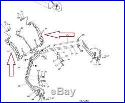 John Deere 4210317, Th111368 Hose Propel 792dlc, 892dlc Excavators