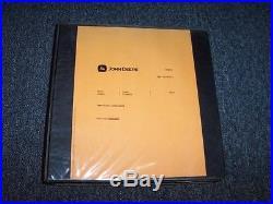 John Deere 450CLC 450 CLC Excavator Technical Repair Service Shop Manual TM1924