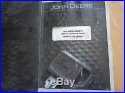 John Deere 450CLC Excavator technical repair manual TM1925 OEM in binder