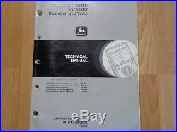 John Deere 450LC Excavator technical operation & tests manual TM1671 OEM