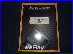 John Deere 450clc Excavator Technical Service Shop Repair Manual Book Tm1925