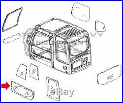 John Deere 4602566 Excavator Lower Door Window Cab Glass
