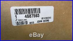 John Deere 4687593 Muffler, 590d, 595d Excavator