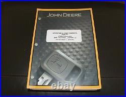 John Deere 470glc Excavator Service Operation & Test Manual Tm12174