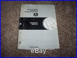 John Deere 490D 590D Excavator Operation Test Shop Repair Service Manual TM1389