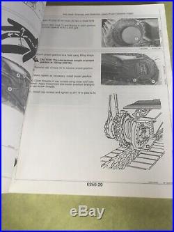 John Deere 490D 590D Hydraulic Excavator Shop Service Repair Manual TM1390 Book