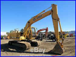 John Deere 490E Hydraulic Excavator 4045T Turbo Diesel Heated Cab 32 Bucket