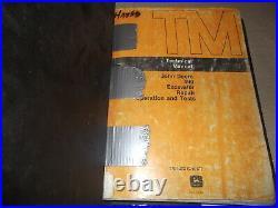 John Deere 490 Excavator Technical Service Shop Op Test Manual Book Tm1302