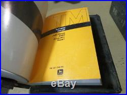 John Deere 495d Excavator Operation, Test & Repair Technical Manual (2 Manuals)