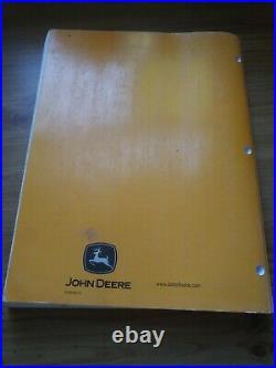 John Deere 50D Compact Excavator Parts Catalog Manual PC9409 May 08