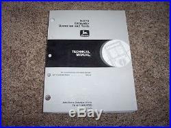 John Deere 50ZTS Excavator Operation & Test Technical Shop Repair Manual TM1817