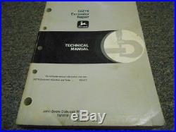 John Deere 50ZTS Excavator REPAIR Technical Service Manual TM1818