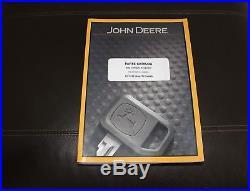 John Deere 50g Compact Excavator Parts Catalog Manual Pc11192