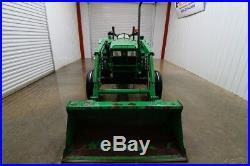John Deere 5203 Tractor Loader, Open Rops, 4x2, Euro Connect, 56hp
