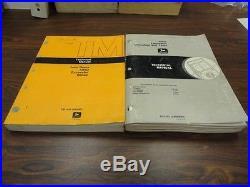 John Deere 595D Excavator Technical Service Repair Shop Manual Set 1444 1445