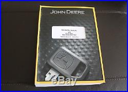 John Deere 60d Excavator Service Operation & Test Manual Tm10760